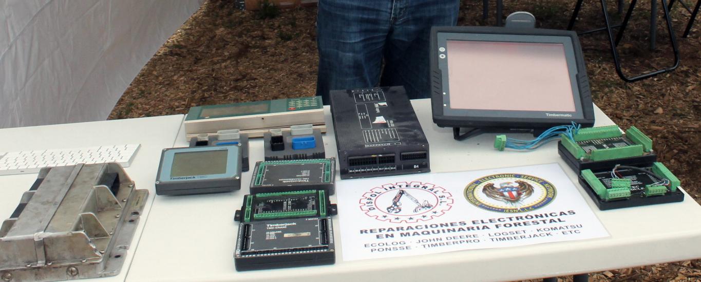 Reparaciones electrónicas para la maquinaria forestal