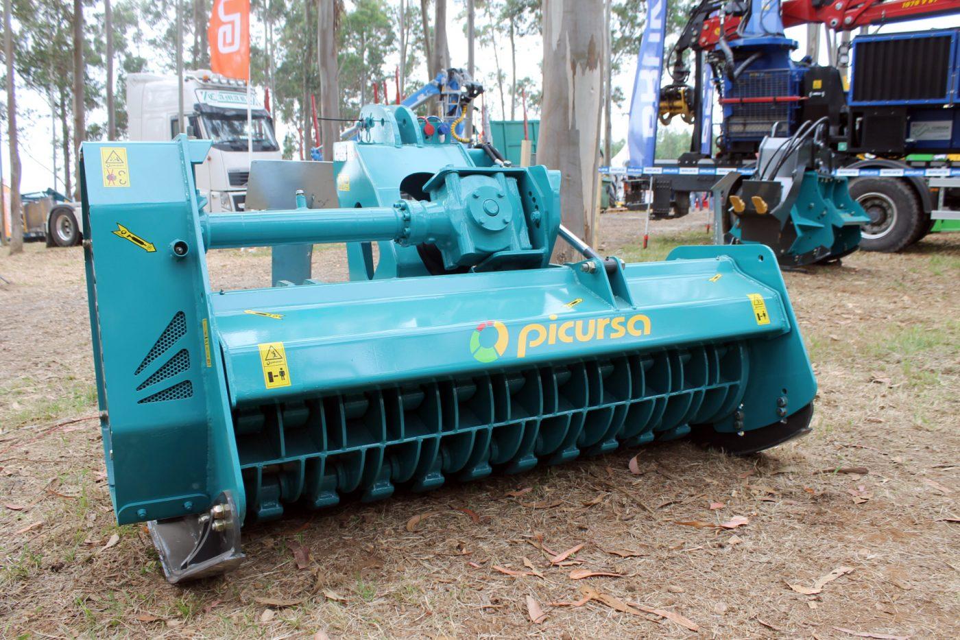 Trituradoras PICURSA de baja potencia con martillos fijos