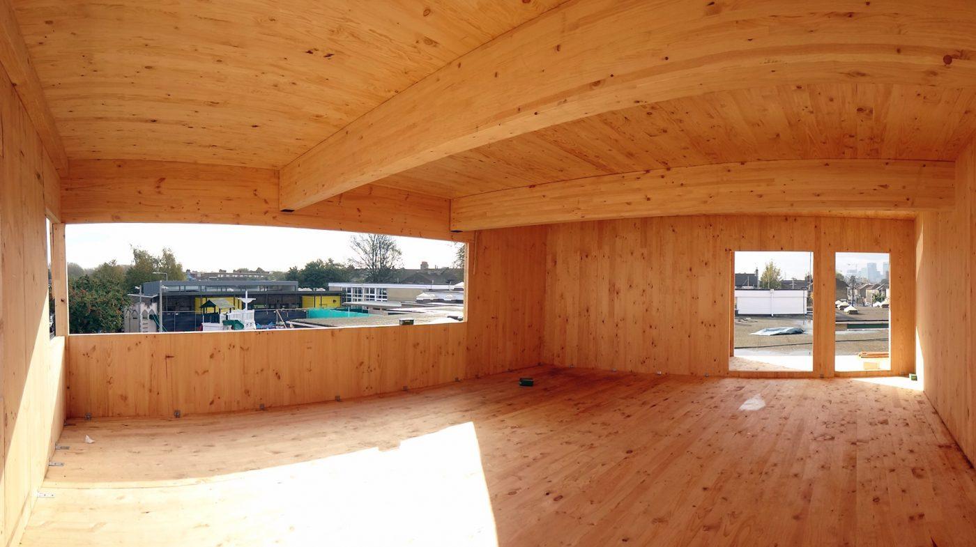 La madera, material clave en la construcción para el objetivo de las Naciones Unidas de cero emisiones de CO2 para 2050