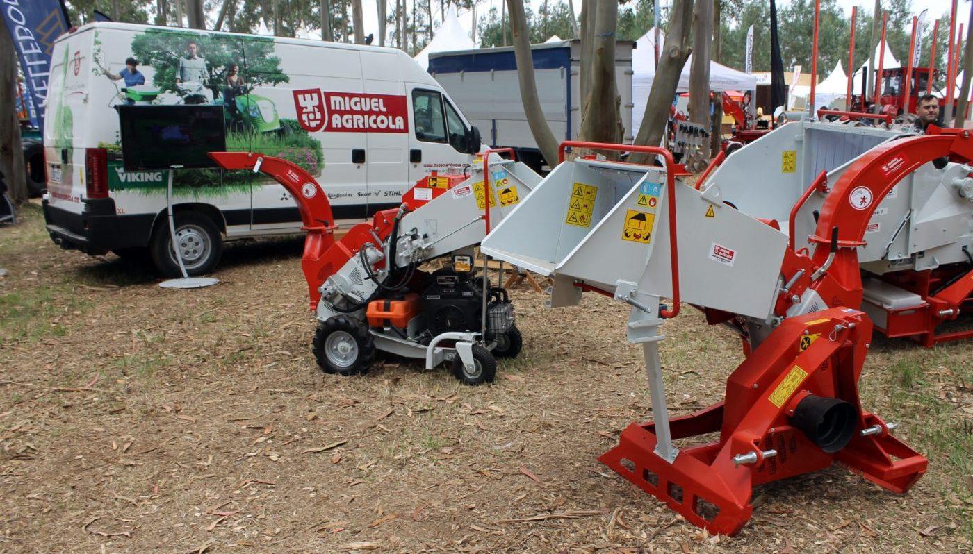 Trituradoras desplazables para tractor WINDLAND