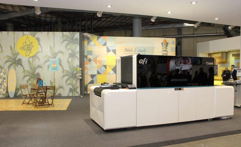 Impresión digital para las industrias de carpintería y mueble