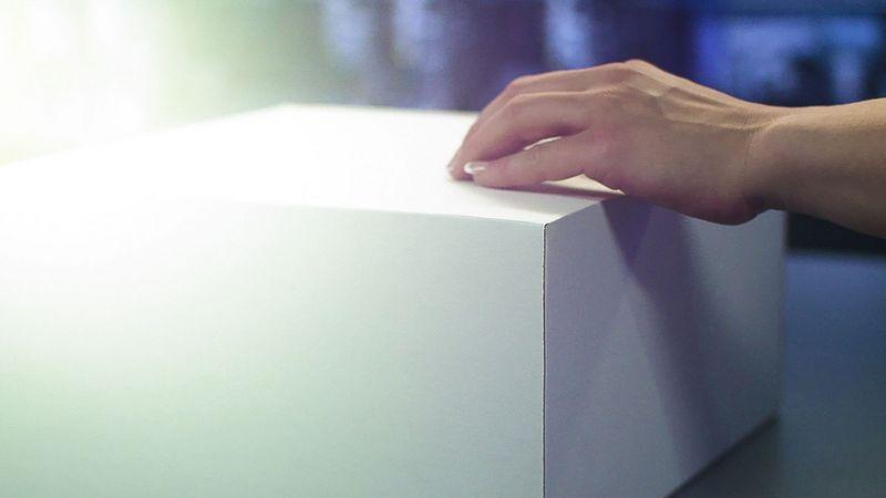 Máquina de corte de cartón PAQTEQ C-250, de HOMAG