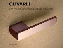La manilla OLIVARI, complemento estrella en el interiorismo