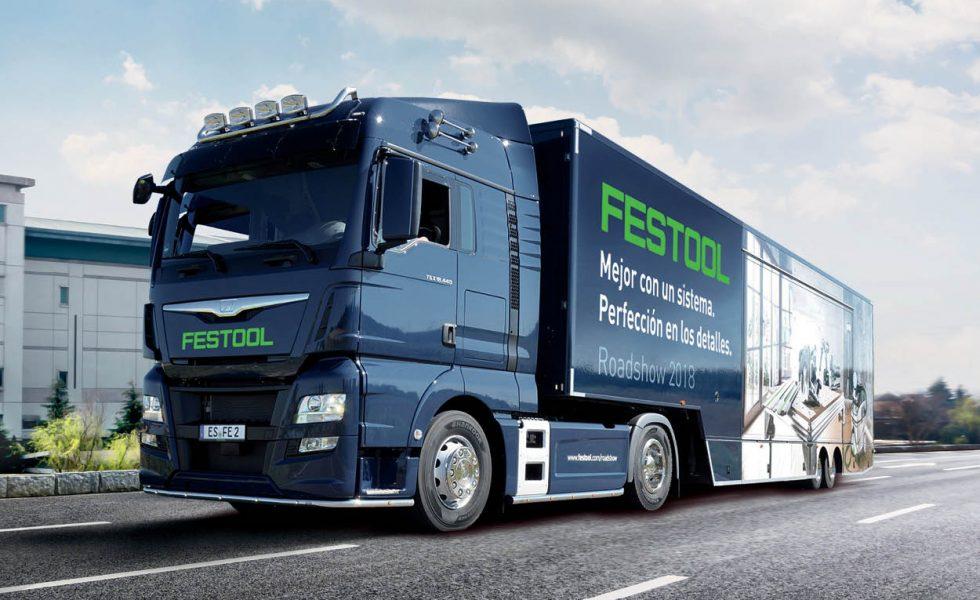 FESTOOL visita España con su camión promocional