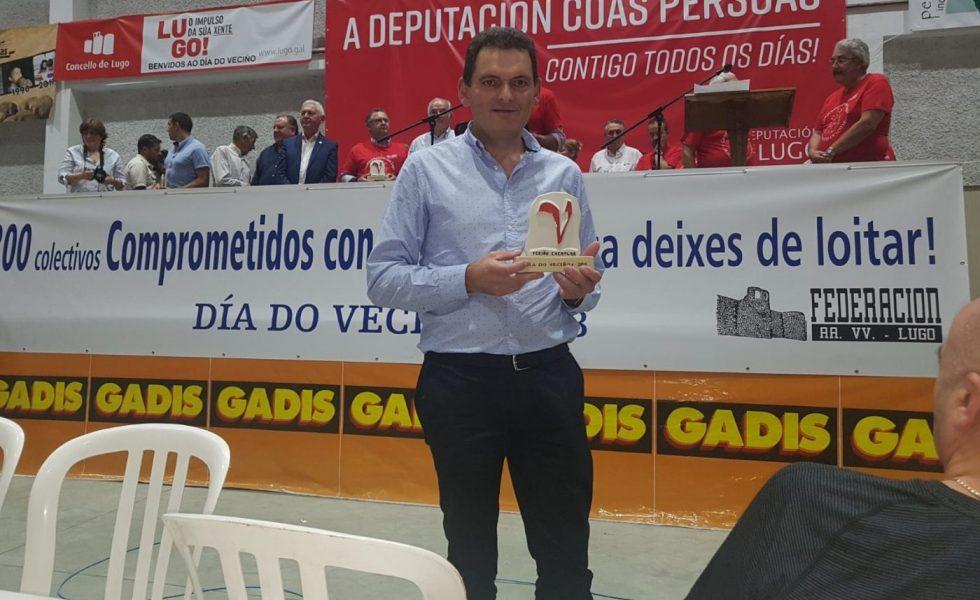 LUGO MADERA recibe el galardón «V» Vecino Exemplar 2018