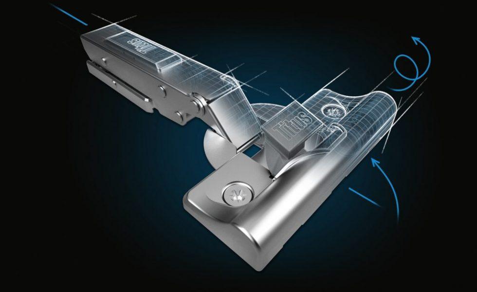 Bisagra T-type, la solución para un montaje rápido