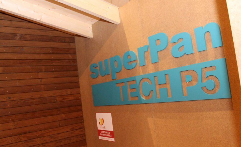 superPan Tech P5, el tablero de FINSA para las casas pasivas