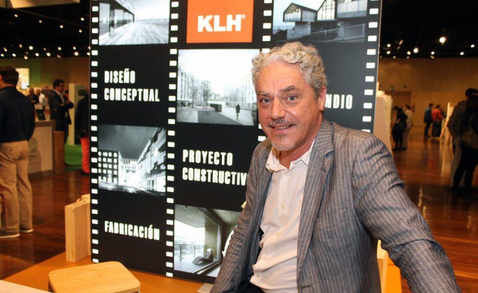 """Alex Livio (KLH): """"Es difícil construir mal con madera contralaminada"""""""