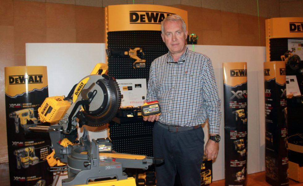 Las baterías inteligentes de DeWALT llegan a la carpintería