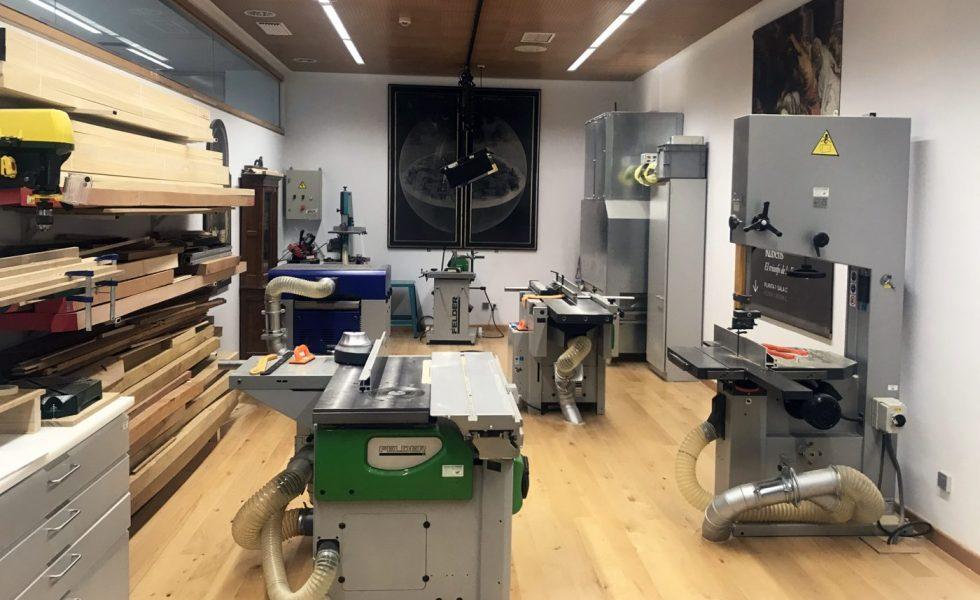 FELDER en el taller de restauración y conservación del Museo del Prado