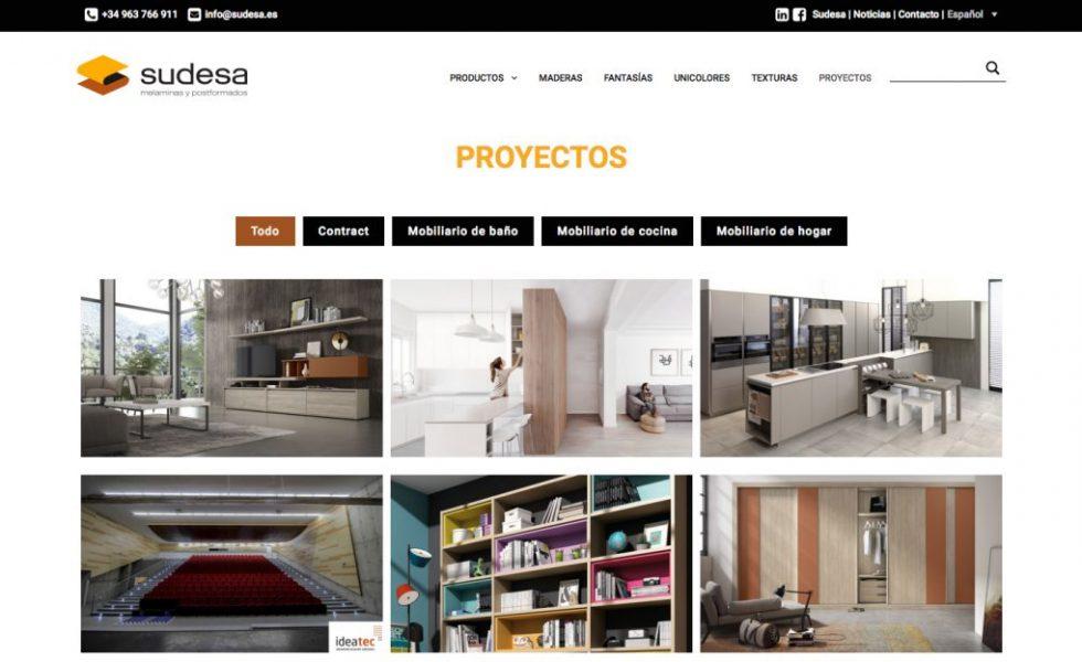SUDESA estrena nueva plataforma online