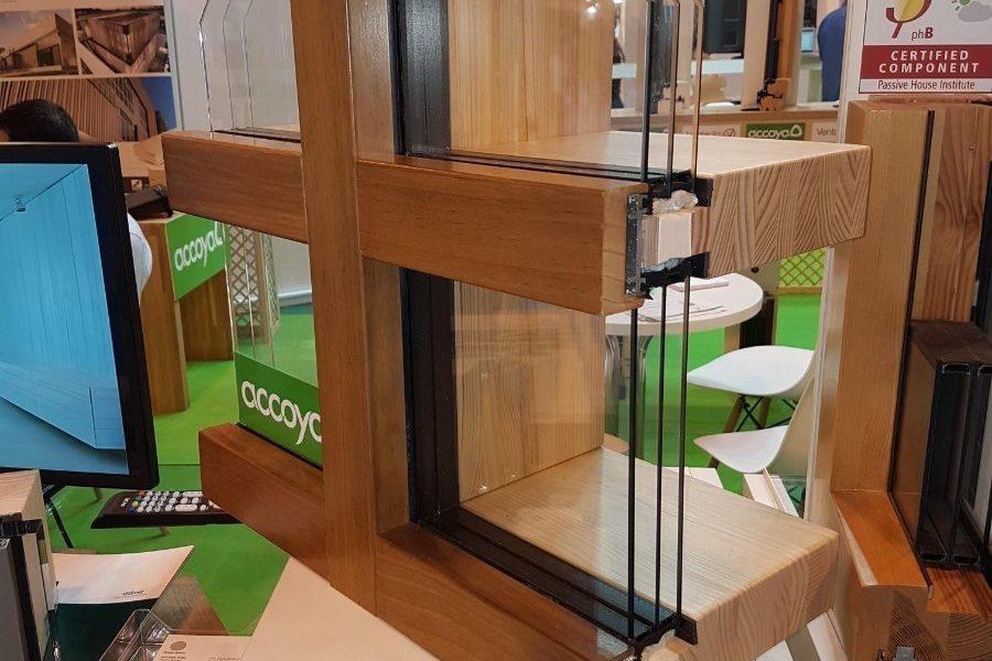 Muro cortina 100% madera con marcado CE estructural