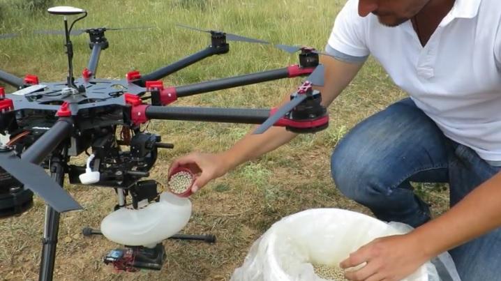 CO2 REVOLUTION reforesta en el Alto Tajo con drones y semillas inteligentes