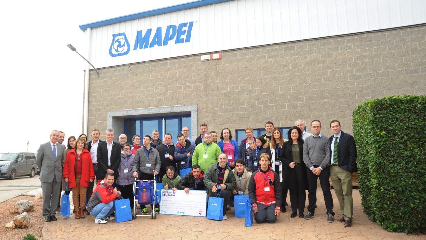 MAPEI dona 3.867 euros a APASA gracias a su campaña «Producto Solidario»