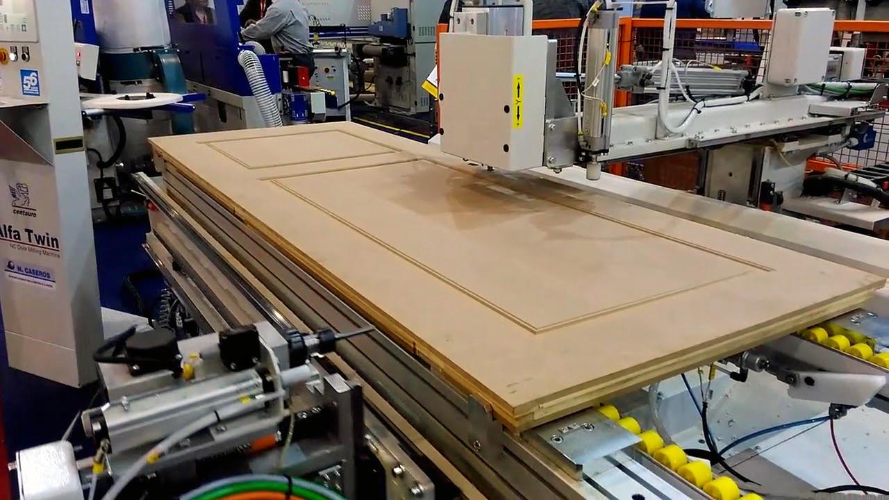 ALFA TWIN, un centro de mecanizado CNC para puertas y cercos