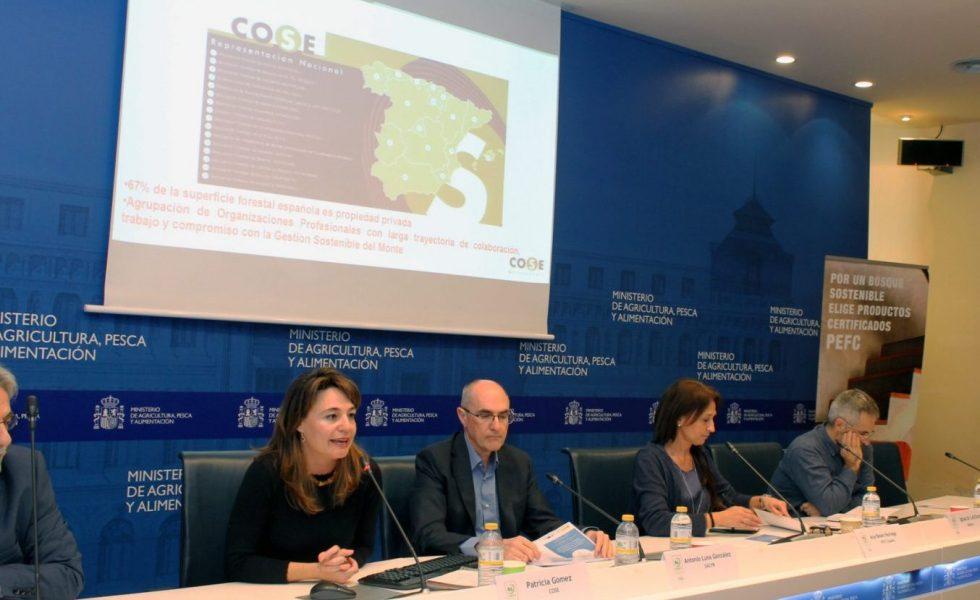 """COSE puso en valor la figura del Selvicultor Activo en la clausura de los cursos """"Innova en Verde"""""""