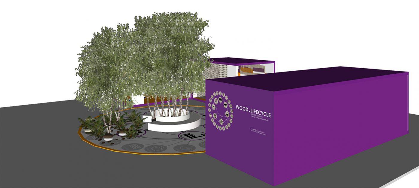 WOOD LIFECYCLE: El viaje de la madera desde el árbol hasta el producto reciclado
