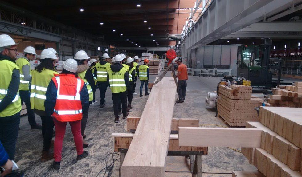 En marcha la docencia del nuevo MASTER EN ESTRUCTURAS, CONSTRUCCIÓN Y DISEÑO EN MADERA de la UPV/EHU