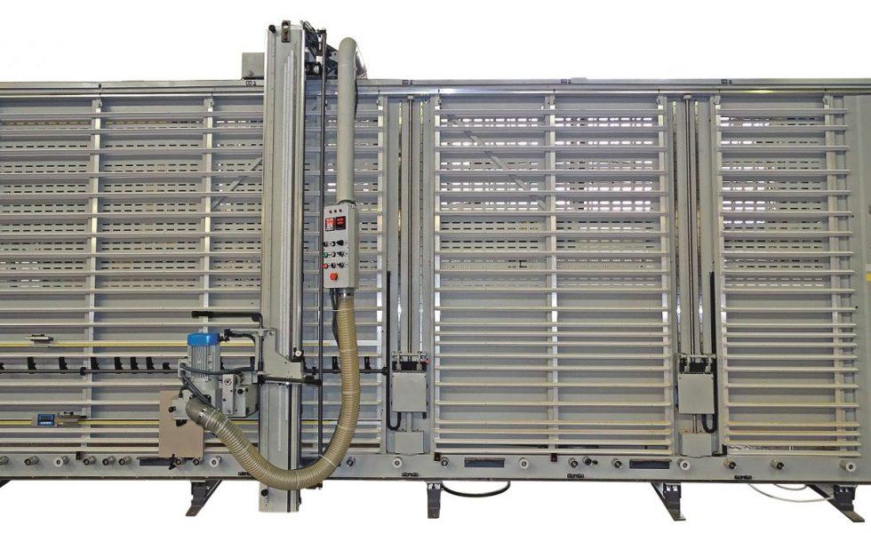 Seccionadora vertical manual con pinzas TSV