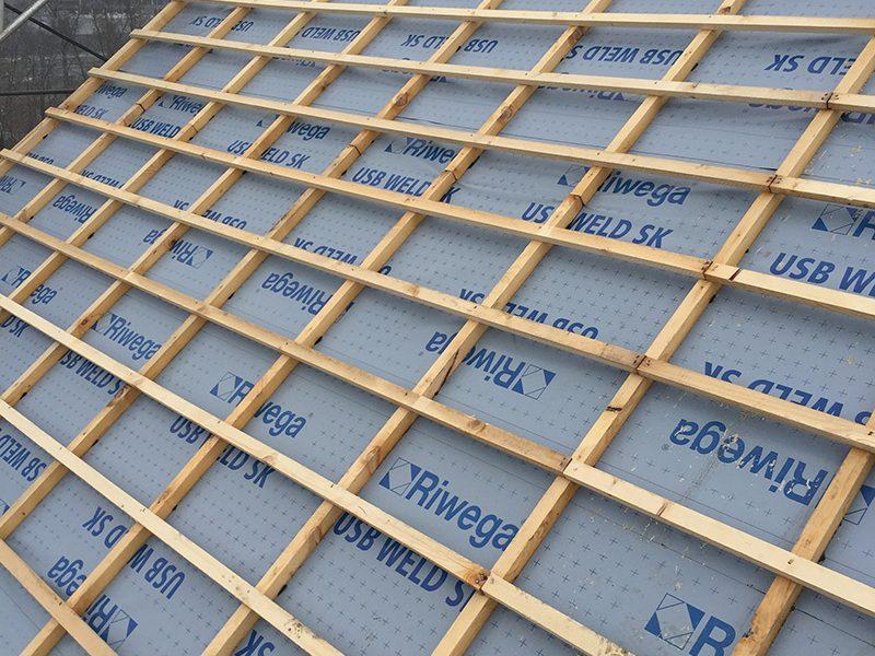 RIWEGA presenta la membrana USB Weld SK para cubiertas casi planas