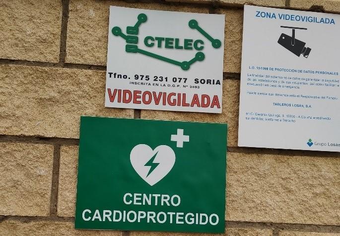 Tableros LOSAN renueva su formación de centro cardioprotegido