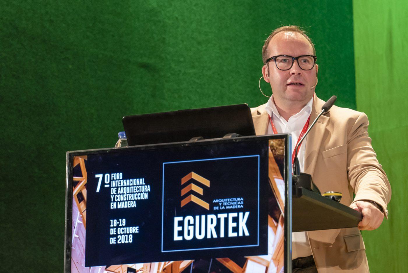 Ponentes internacionales compartirán en EGURTEK sus conocimientos, experiencias y retos conseguidos durante su trayectoria profesional en la construcción con madera