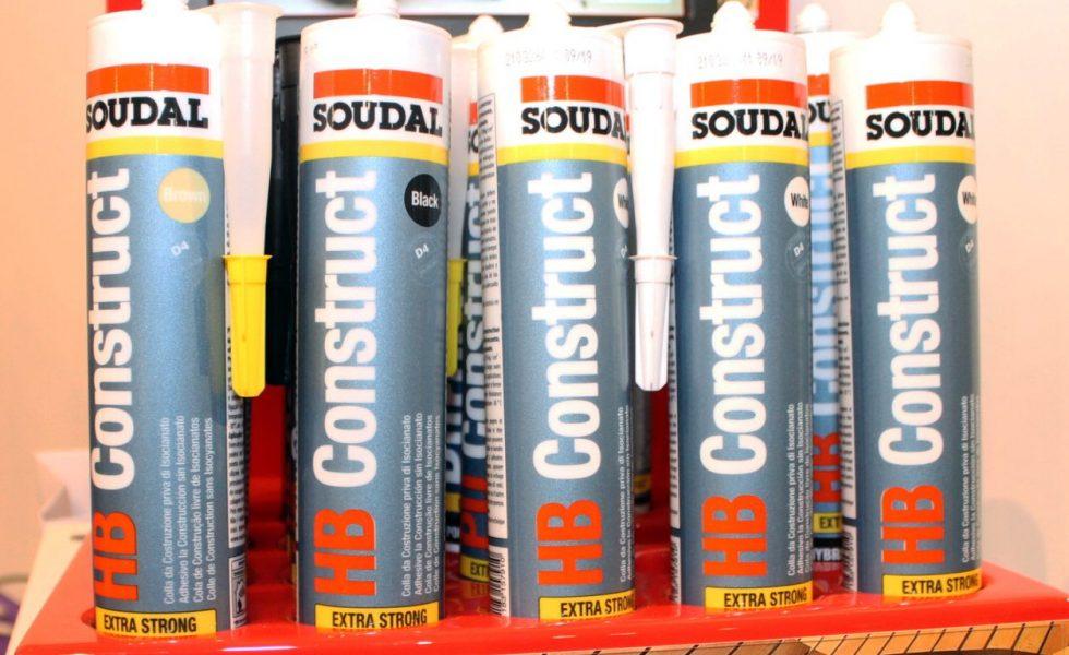 HB CONSTRUCT, el adhesivo de construcción híbrido D4 de SOUDAL