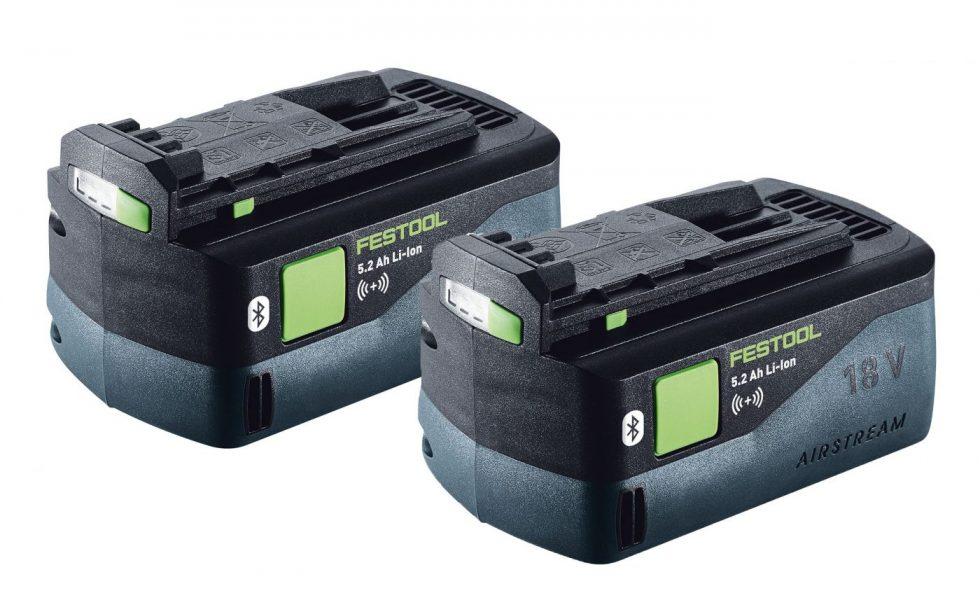 El sistema FESTOOL permite trabajar sin cables y sin polvo