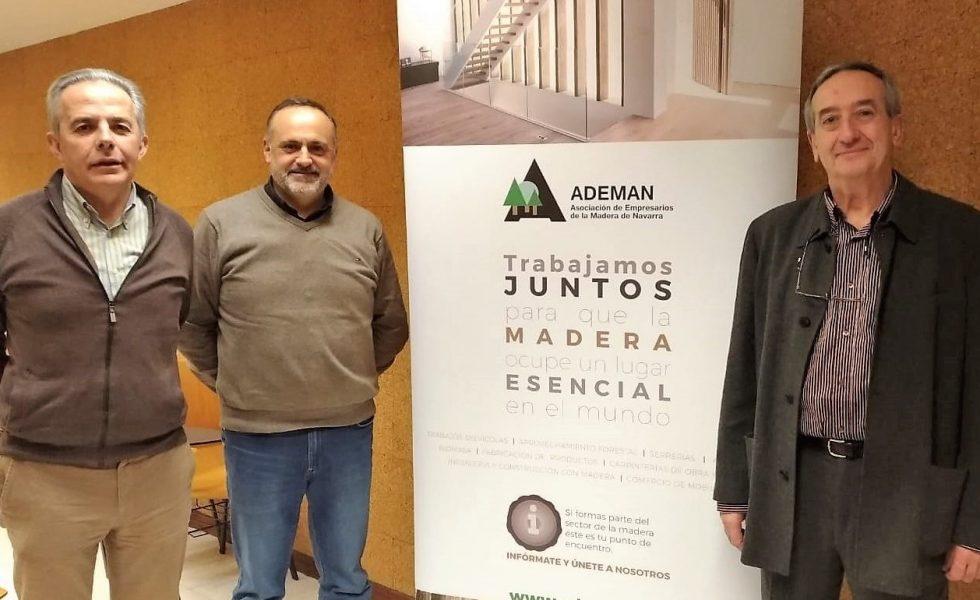 Un acuerdo que fortalece el sector de la madera en Navarra