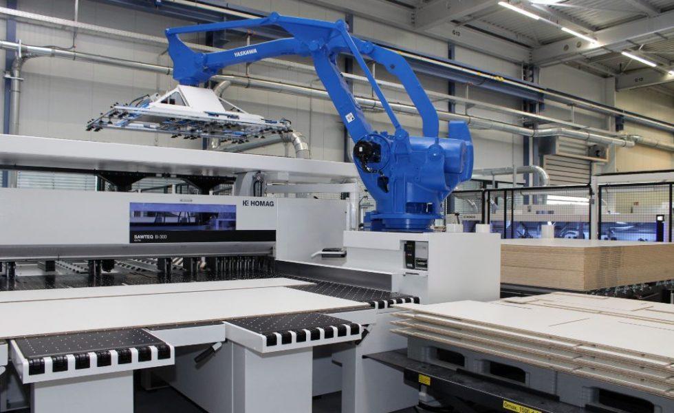 Nueva generación de sierras robotizadas de HOMAG