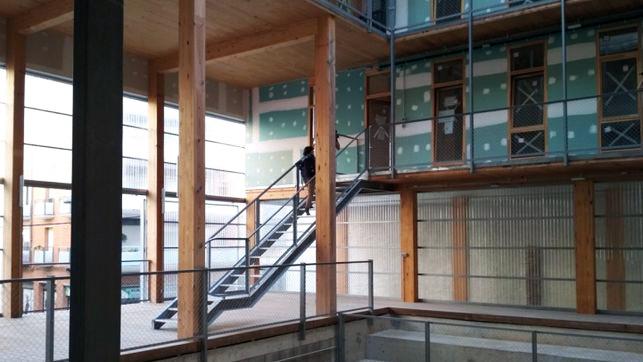 ENTREPATIOS, un proyecto de vivienda ecosocial con madera en su ADN