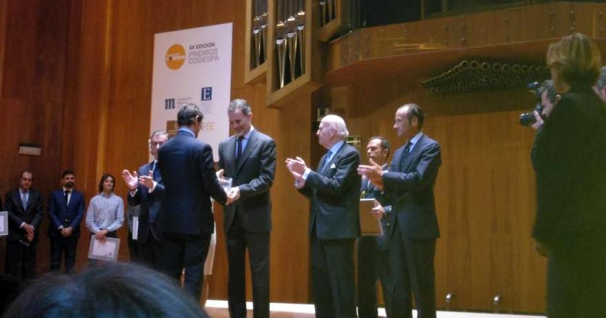 LEROY MERLIN y Fundación COPADE reciben el premio CODESPA en la categoría Innovación Social