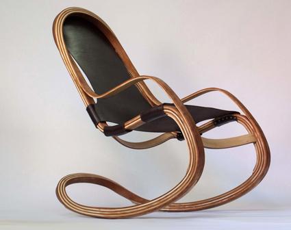 MARINOMAZA presentará en Estocolmo su silla mecedora FLECT