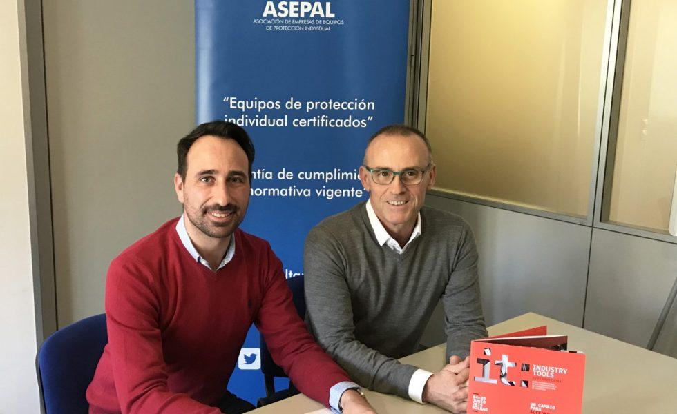 INDUSTRY TOOLS by FERROFORMA firma un acuerdo de colaboración con ASEPAL