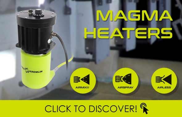 SAMES KREMLIN presenta la gama de calefactores MAGMA