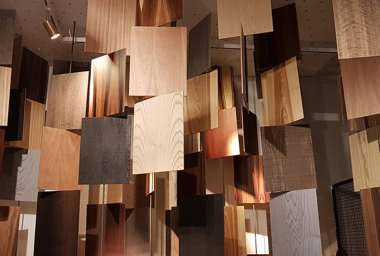 LOSAN contribuye al protagonismo de la madera en Casa Decor
