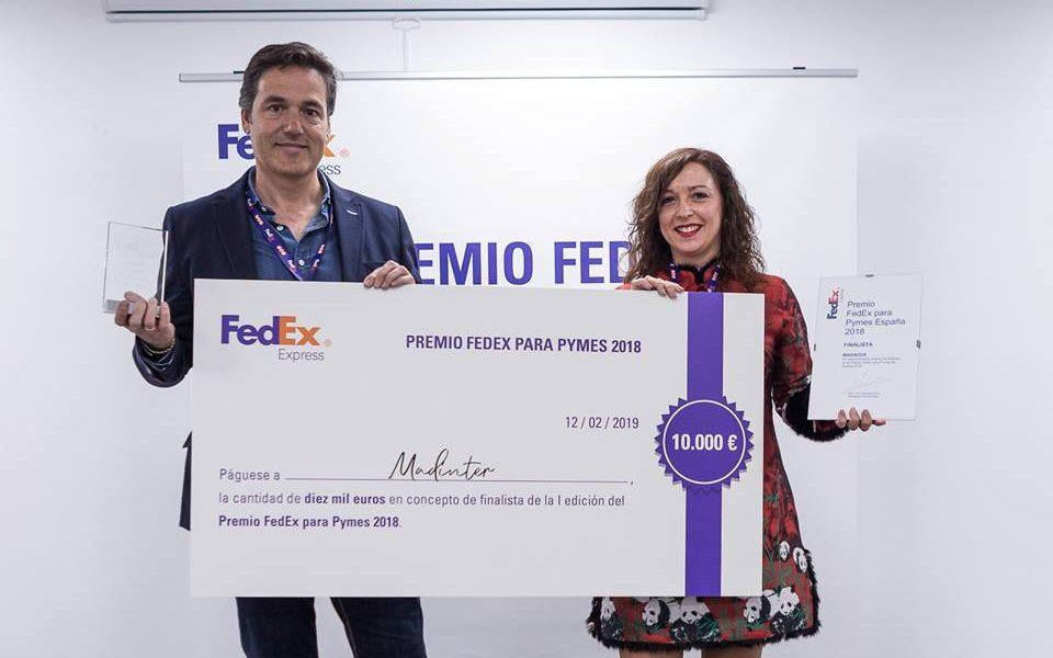 MADINTER gana el 2º Premio FedEx para Pymes en España