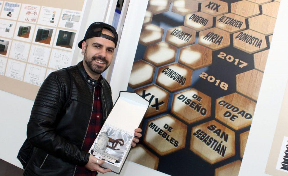 """El Concurso de Diseño de Muebles """"Ciudad de San Sebastián"""" prepara su XIX edición"""