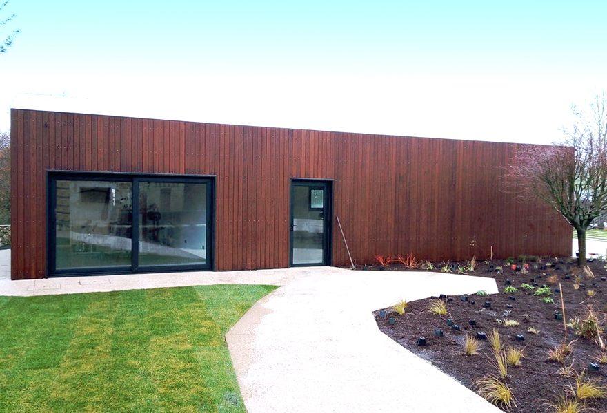 LOSAN presenta su proyecto de fachada en madera termotratada