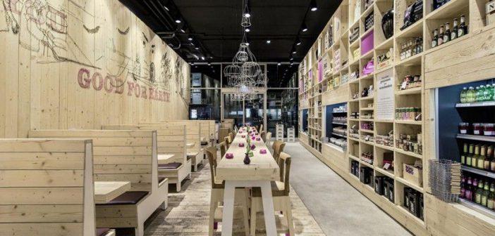 Restauración y gran distribución apuestan por la madera en sus establecimientos