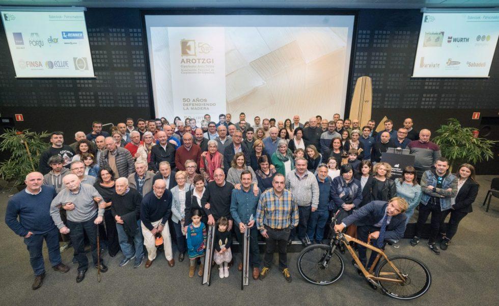 Ilusión y esperanza en el futuro del sector en el 50 Aniversario de AROTZGI