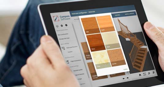 COMPASS SOFTWARE, la solución de vanguardia para la producción de escaleras de madera