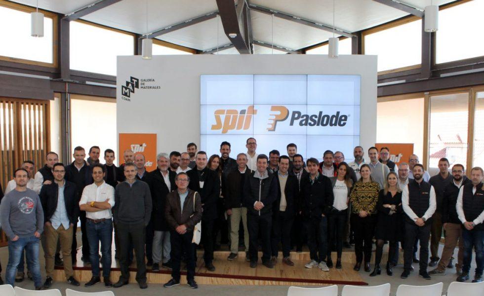 Éxito del primer KICK OFF SPIT PASLODE en el COAM en Madrid