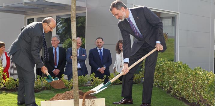 El Rey presidirá los actos del Día Internacional de los Bosques en Sergude (Boqueixón)