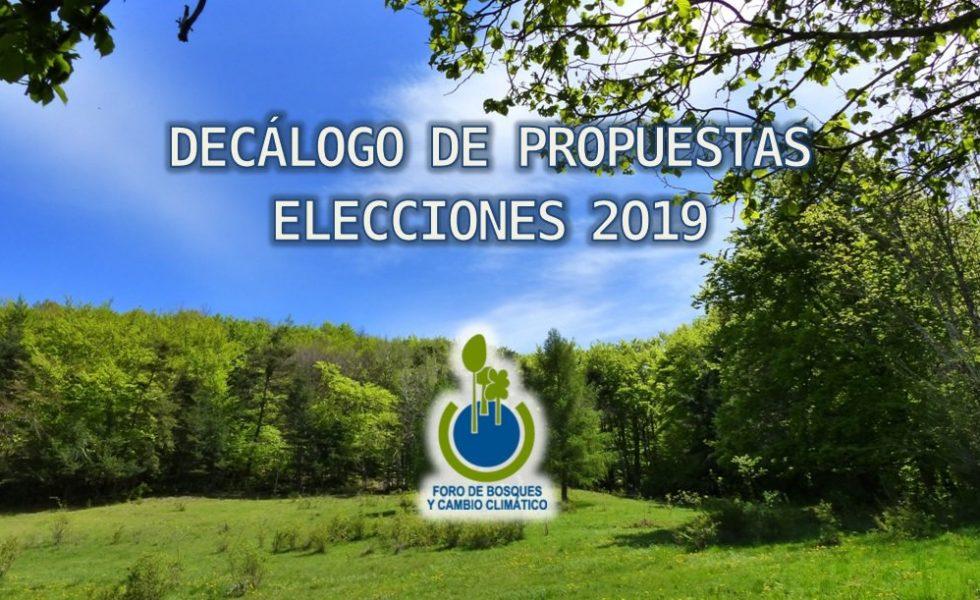 El Foro de Bosques y Cambio Climático presenta un decálogo de propuestas para las elecciones generales