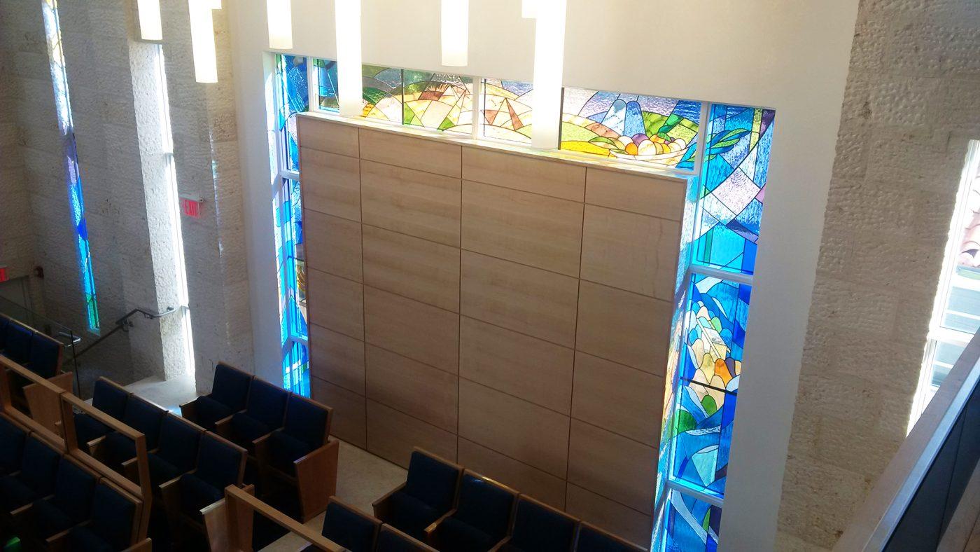 IDEATEC utiliza productos de MILESI en el proyecto de la Sinagoga Young Israel en Miami