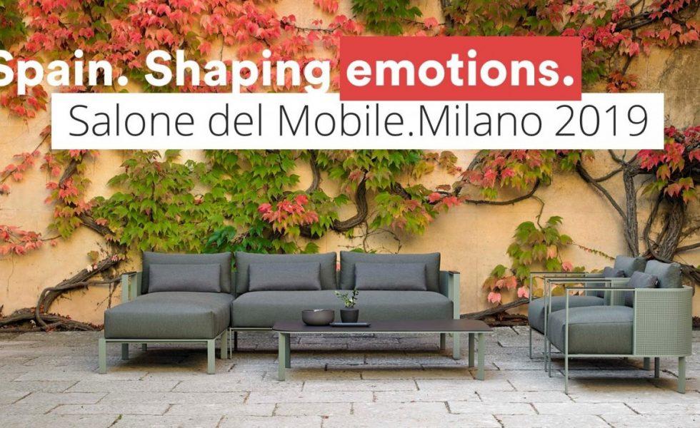 Un total de 45 empresas presentarán las novedades de Mueble de España en el Il Salone del Mobile