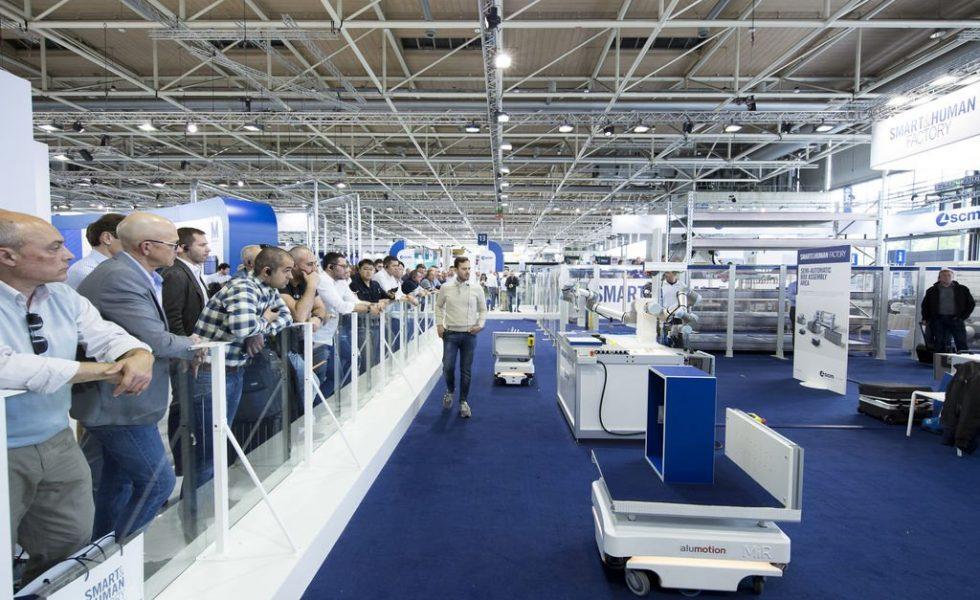 SCM exhibe en LIGNA su Smart Factory