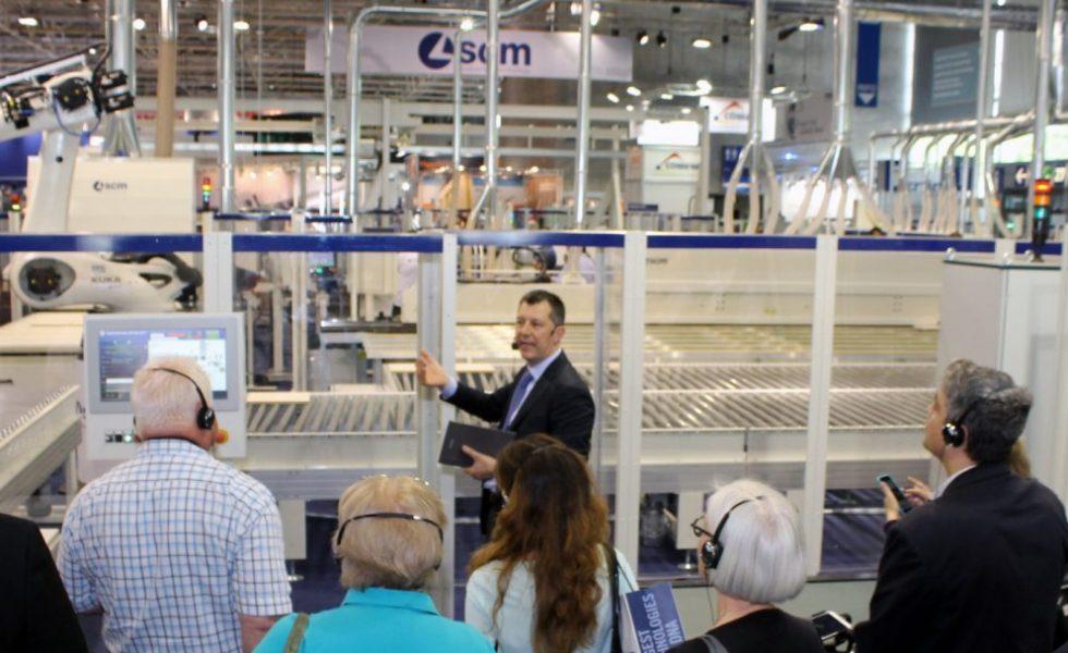 """SCM en Ligna 2019 con su """"Smart&Human Factory"""""""