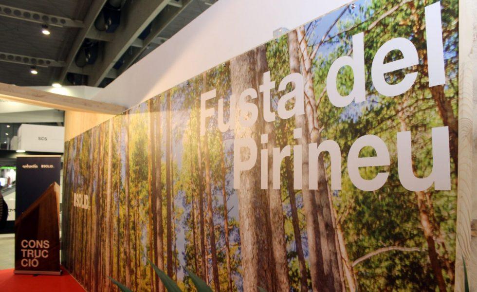 SEBASTIA reivindicó en BB Construmat la madera del Pirineo